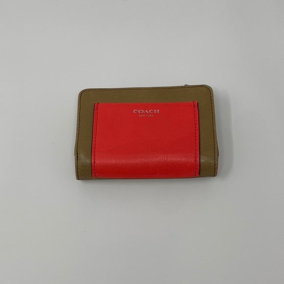 Coach colourblock wallet